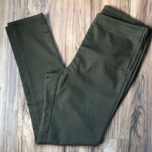 Divided Green Stretchy High Waisted Skinny Pants
